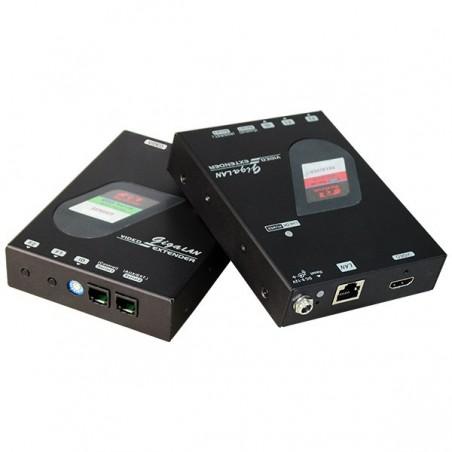 NVXM-M230, HDMI Extender over Giga LAN med Video Wall