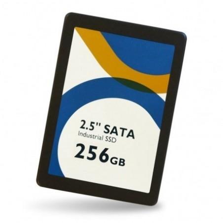 """256GB 2½"""" SSD industriel, MLC, Udvidet temperatur område -40℃ ~ 85℃"""