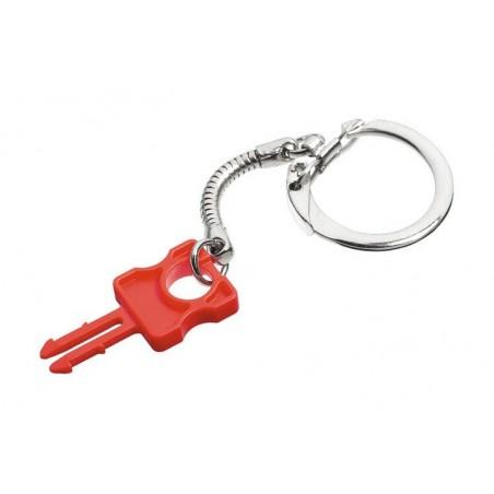 RJ45 nøgle til RJ45 lås. Nøgle til patchkabel lås. Låsen monteres på standard netværkskabel. LSZH, rød