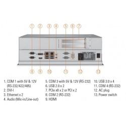 "17"" Panel PC med PCIex..."