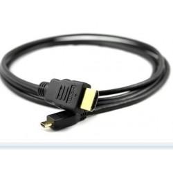 HDMI micro til HDMI han/han...