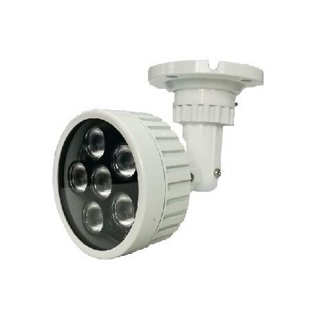 Indendørs/ udendørs infrarød lampe til videoovervågning, rækker op til 100m