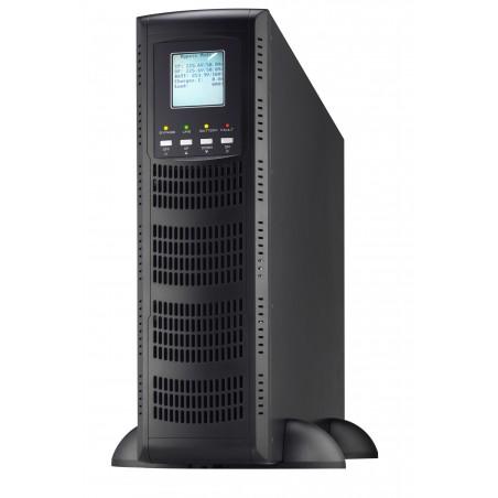 6 kVA / 5.4 kW Professional High-Level Online UPS til rack / tower, inkl. batterier. Når sikkerhed skal være i top
