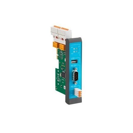 INSYS RS232, RS485, USB2.0, digital I/O plug-in kort til INSYS-MRX serien