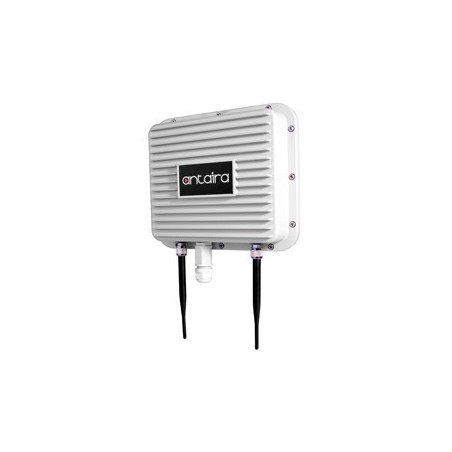 Industriel udendørs Wifi, Access Point, Client, Bridge, Repeater, 2,4GHz, IP67 alu, PoE, -20 - +70°C, mastebeslag