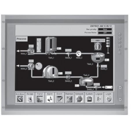 """19"""" SXGA TFT panel PC med Core i3/5/7 CPU, 3.5"""" eller 2.5"""" HDD, op til 32GB RAM"""