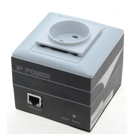 """Tænd og sluk udstyr via netværket - """"IP ping Watch dog"""" til auto-reset af udstyr - 230VAC, med Schuko-stik (godk. i DK)"""