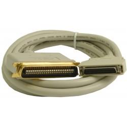 SCSI 2 kabel, CEN50 han,...