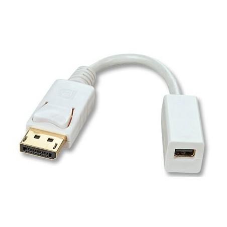 DisplayPort kabel. DP mini hun – DP han 0.2 meter