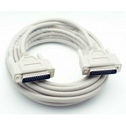 Seriel RS232 kabel 25 pin...