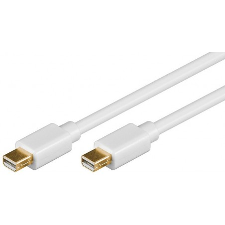 DisplayPort kabel. DP mini han – DP mini han, 2,0m