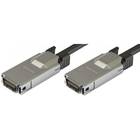 CX4 Infiniband netværkskabel til 10 Gbit, han-han, op til 15m, AWG28, sort, 5,0m
