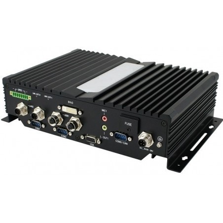 Embedded Fanless PC Atom 1.91GHz, EN50155 / EN45545 approved