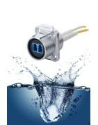 Vandtæt RJ45 / Fiber / USB/ VGA