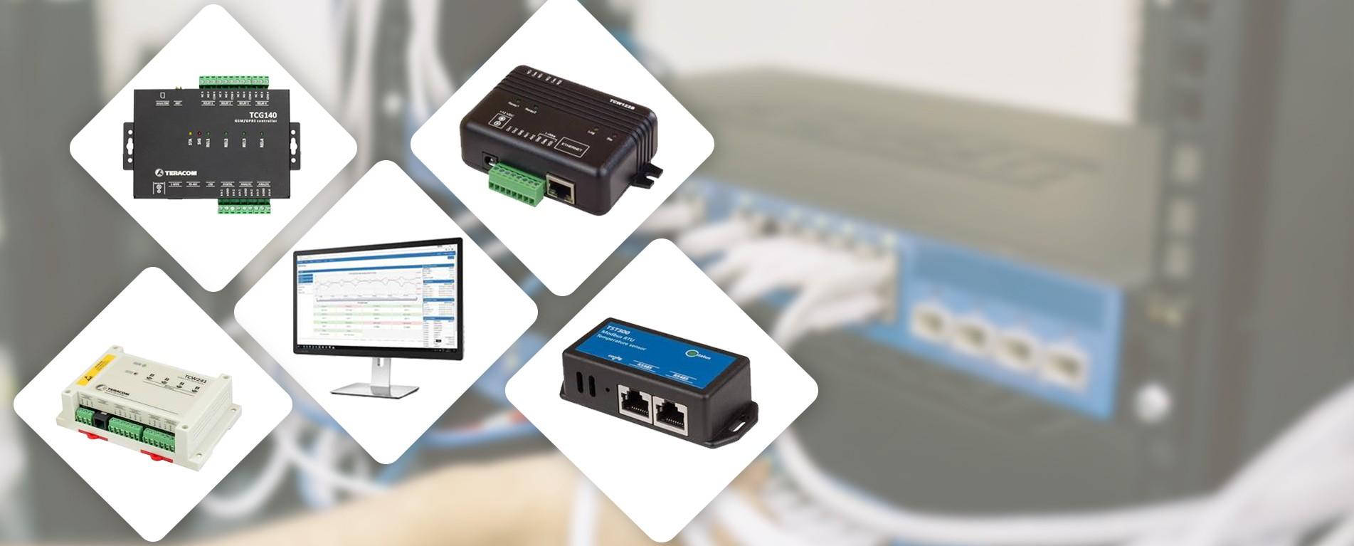 Teracom - Fjernkontrol over Ethernet og GSM/GPRS